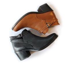 Lonesome Detail, modèle BARBRA #shoes #women #brown #black #bootd
