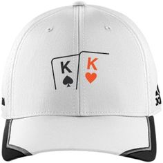 $32.45 Adidas poker cap with moisture-wicking properties and UV protection. Pick any two cards you want!