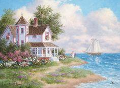 Sailing By Dennis Lewan
