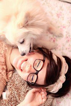 puppykisses by keikolynnsogreat, via Flickr