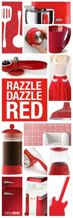 Great ideas to add a little color to your kitchen.