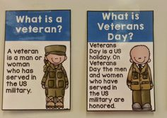 Classroom Freebies Too: Veterans Day Posters