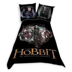 The Hobbit Bedset from How to Decorate a Lord of the Rings Themed Kids Room