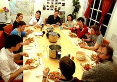 Habits of Healthy Families: Eat dinner together every night!