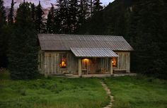 From Ghost Town to Romantic Cabin Retreat | Vertical Log Cabin | FATHOM