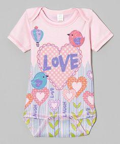Look at this #zulilyfind! Blossom 'Love' Birds Bodysuit - Infant by Clever Birds #zulilyfinds