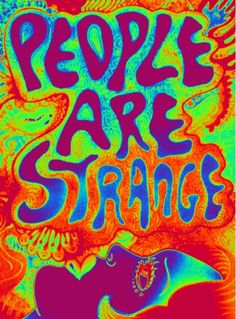 People Are Strange ~ The Doors