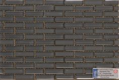 Personal Selection Kitchen Backsplash - Cristallo Mosaics Glossy Matte Blends Charcoal Grey