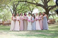 beyond the aisle: inspiration for a neutral pastel wedding