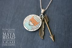 diy fox necklace maya road leah farquharson-3