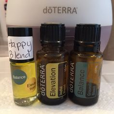 Feeling blue, Crabby, bad day, kids having a fit or tantrum? Make a happy blend roller for you are your kids. doTERRA, elevation & balance toped w FCO. Follow me on Facebook. Learning essential oils with baxter4 www.mydoterra.com/baxter4