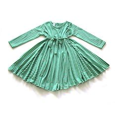 Hey, I found this really awesome Etsy listing at https://www.etsy.com/il-en/listing/257049788/girls-round-dress-green-white-knitted