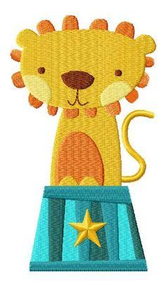 Circus Lion: found at Blasto Stitch