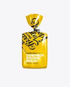 Download Idei Na Temu Bread Package Mockup 18 Upakovka Dizajn