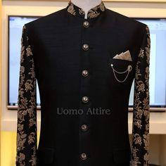 Sherwani For Men Wedding, Wedding Dresses Men Indian, Wedding Dress Men, Wedding Suits, Mens Indian Wear, Indian Men Fashion, Blazer Outfits Men, Stylish Mens Outfits, Indian Groom Dress