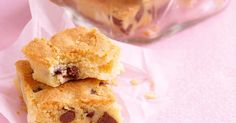 Buttery choc-chip shortbread slices that everyone will love - your challenge is not to devour them all at once!