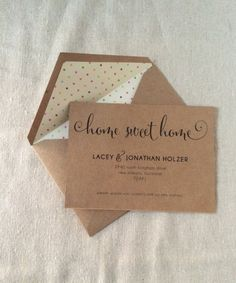New Address Announcement by FaithsPaperie on Etsy, $40.00