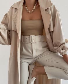 Glamouröse Outfits, Cute Casual Outfits, Stylish Outfits, Fall Outfits, Fashion Outfits, Nude Outfits, Formal Outfits, Elegantes Business Outfit, Elegantes Outfit