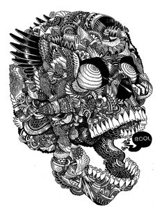 Wild Life Ink Illustrations
