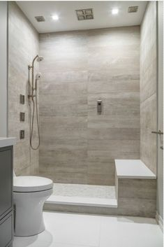 Love this tile, just need to add 1/2 wall or something to help prevent splashing