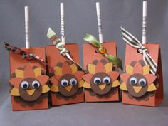 pintrest tootsie pop turkey | Turkey Tootsie Pops = great idea for November craft ... | Thanksgiving