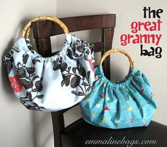 Emmaline Bags & Patterns: Free Purse Tutorial: The Great Granny Bag