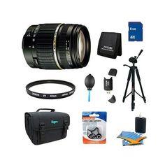Amazon.com : Tamron 18-200mm F/3.5-6.3 AF DI-II LD Lens Pro Kit f/ Nikon w/ Built-in motor : Camera Lenses : Camera & Photo