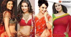 Which of these Bollywood Divas looks most ravishing in today's #Navratri color 'RED' !! a) Sushmita Sen b) Vidya Balan c) Kangana Ranaut d) Ayesha Takia