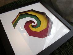 Firefly shadow box, Kaylee, layered papercut, parasol, limited edition