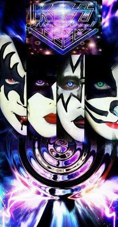 Kizz Band, Kiss Rock, Kiss Merchandise, Kiss Costume, Alchemy Tattoo, Gene Simmons Kiss, Kiss World, Rock Band Posters, Vintage Kiss