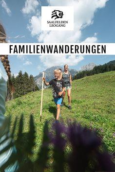 Die Landschaft in Saalfelden Leogang ist ein Familienparadies, so wie sie ist. Genau richtig, um Familienwanderungen zu unternehmen. Kinder lieben es unter jedem Stein und hinter jedem Baum ein neues Abenteuer zu entdecken. Da werden Gebirgsbäche überquert, herumliegende Baumstämme zu Balancierstangen umfunktioniert und hungrige Mäuler mit frischen Walderdbeeren gestopft. New Adventures, Repurposed, Paradise, Business, Alps, Stone, Hiking