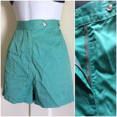 Vintage 1940's Women's Gabardine short shorts