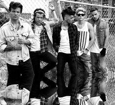 One Direction - denim, flano, americana, double denim etc
