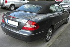 My newest toy: Mercedes CLK 320