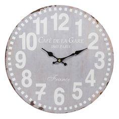 Horloge D 34 cm CAF� DE PARIS