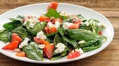 Salat med blodappelsin og rødbeder | Mad