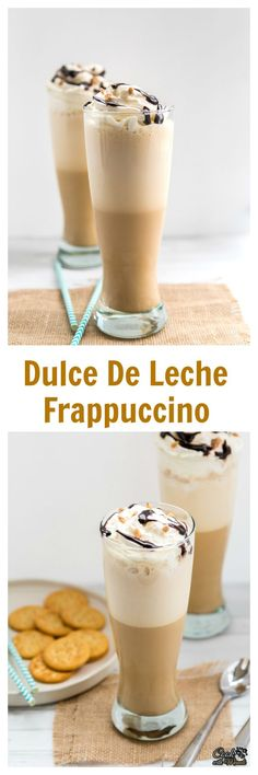 Dulce De Leche Frappuccino is a delicious treat to satisfy your coffee craving!