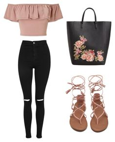 """""""Untitled #15"""" by torimiller-ii on Polyvore featuring Miss Selfridge, Topshop and MANGO"""