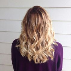 Golden ombre. Balayage. Sombre. Blonde
