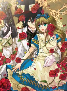 """Alice in the Country of Hearts"" - manga, game, anime"