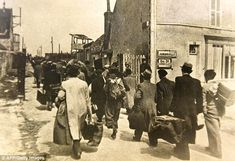 French Jews arrive at the transit camp of Pithiviers near Orleans, where they were placed under French police supervision before being transported to concentration camps in the early 1940s. Devenir Gendarme...belle tradition.