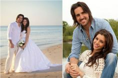 Jake Owen Tweets Sunrise Beach Wedding Photo