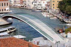 El puente de la Constitución ideado por Calatrava en Venecia.