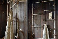 Pipe Wall Hook Rack | Decorative Wall Hook Rack