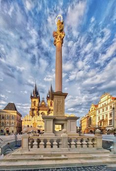 Prague, Cn Tower, Building, Travel, Voyage, Buildings, Viajes, Traveling, Trips