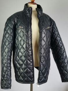mens quilted lamb nappa leather jacket size 44 Man Quilt, Ebay Clothing, Lamb, Winter Jackets, Leather Jacket, Best Deals, Coat, Clothes, Women