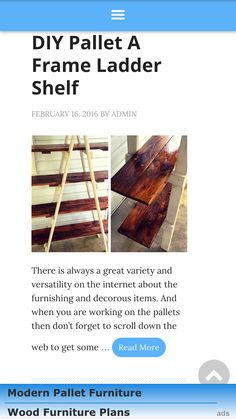 Pallet ladder