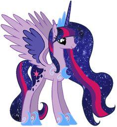 #808176 - artist:nightmarelunafan, fusion, lesbian, magical lesbian spawn, oc, oc:lunar sparkle, princess luna, princess twilight, safe, shipping, twilight sparkle, twiluna - Derpibooru - My Little Pony: Friendship is Magic Imageboard