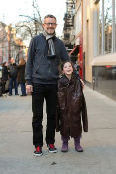 """Humans of New York: """"What's your favorite thing about your dad?"""" """"He lets me beat him up and doesn't cry."""""""
