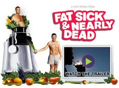 "This movie is AMAZING!  I was inspired to buy a juicer and juice fasted for 7 days.  The ""reboot"" helped me lose over 11 pounds and am now eating 90% raw.  Love it!  **ps it's available on Netflix!"